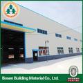 Galpones prefabricados de estructura de acero, la estructura de acero de construcción