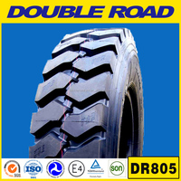 China Double Road truck tyre and inner tube 12r20 for minning