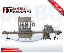 PF-4 Automatic Liquid Filling Line,liquid bottle filling machine,auto capping machine