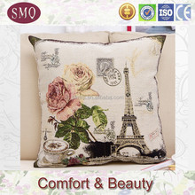 embroidery designs home decor yarn dyed jacquard cushion cover tapestry