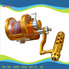 CNC Machine Cut Aluminium Sea Trolling Fishing Reel