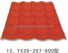 Latest price of Waterproof Painted Corrugated Steel Roofing Sheets Panel / Color Coated Metal Roof