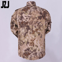Factory For Military Uniform Highlaner Clothing T/C 65% Polyester,35% Cotton Ripstop 180-230G Tactical and Camo Jacket And Pants