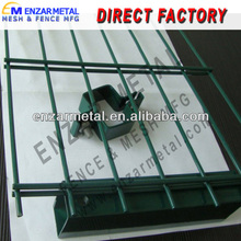 Double Wire Fence Panel/Garden Edging Wire Plasticized