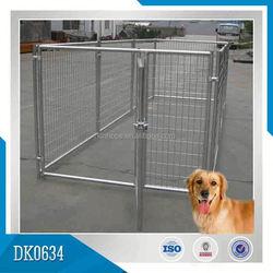 Nice Quality Galvanized Modular Dog Kennel Of Large