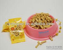 Seco alimento para perros de fábrica, delicioso sabor de la leche galletas para perros,