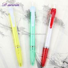 Wholesale promotional pull out banner pen flyer pen