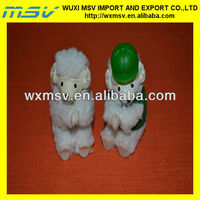 small plush sheep with vest