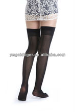 Street Fashion Wholesale Plain Lady Back Seam Anti-slip Formal For Model Nurse Woman 15D 100%Nylon Stocking