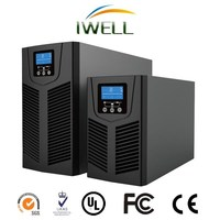 CT series computer pure sine wave single phase online 3KVA double conversion UPS
