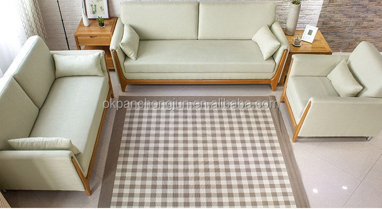 Best Quality Wooden Sofa ~ Best quality hot sale simple wooden sofa set design buy