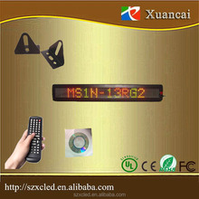 Promotion price !! big stock !! fast delivery & good quality indoor single line led sign