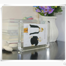 acrylic picture frame holder stand display, picture frame holder, magnet acrylic frame