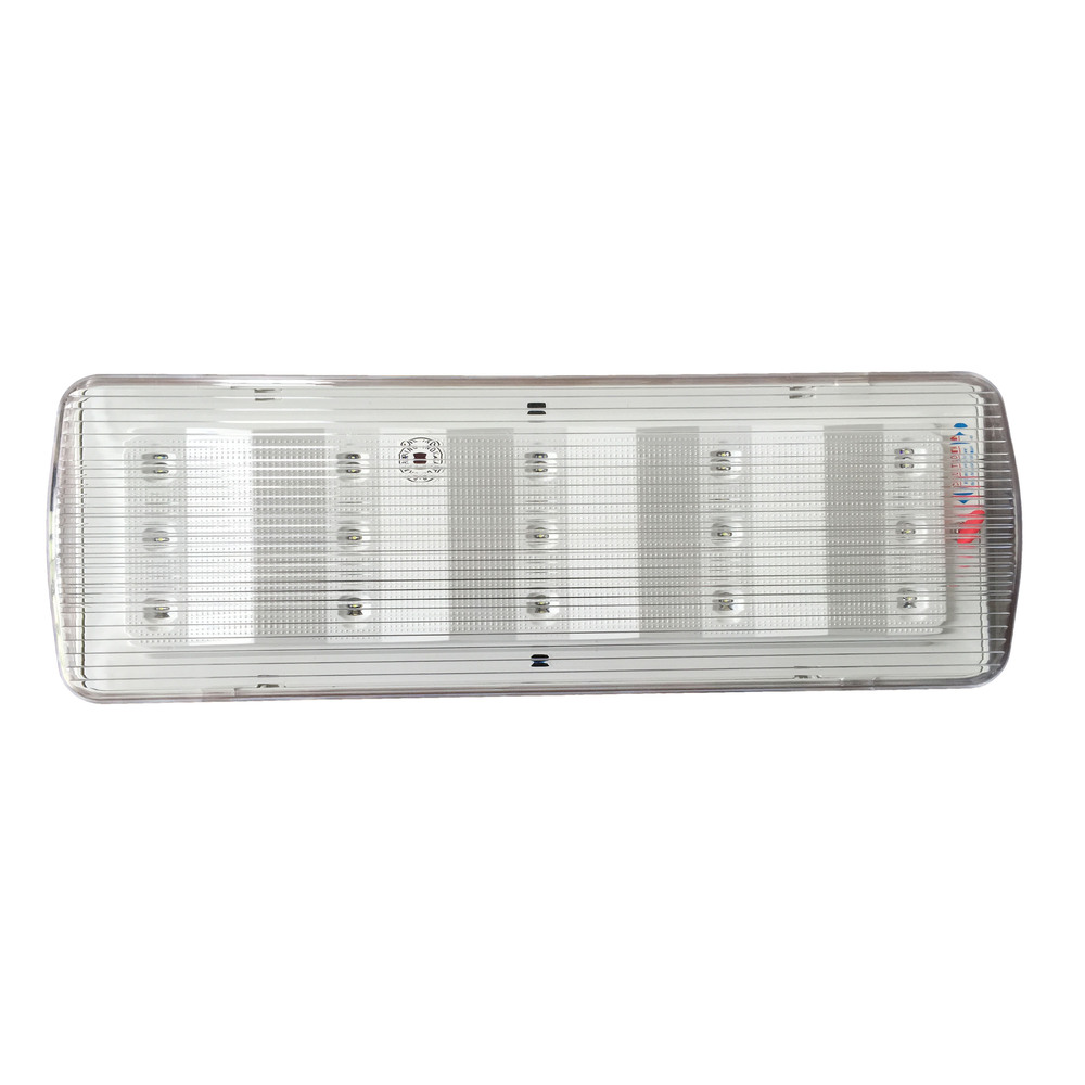 Rechargeable Led Emergency Lighting Luminaire Long Lasting Automatic Light Circuit 10