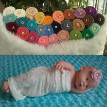 Beautiful White Baby Knit Wrap With Head Accessories Baby Photography Wraps Baby Cloths