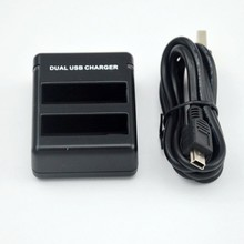 New dual charger for Go4 battery, Go 4 accessories, Go4 battery charger