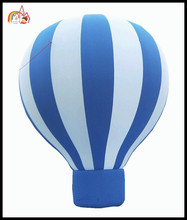 Inflatable green & white light balloon 4 advertising promotion / cheap inflatable advertising balloons