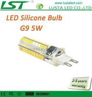 Halogen G9 LED 5W 110V 220V 360 Degree Small Size LED G9 Lamp 72PCS SMD2835 G9 LED Bulbs Dimmable Lamps