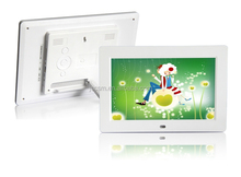 OEM 10inch motion sensor digital video player auto copy function support 1080P video for supermarket advertising