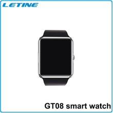 New fashion GT08 Smart Watch Phone, Watch Mobile Phones,bluetooth watch with IOS and wrist watch phone android