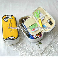 lovely large pencil case with compartment