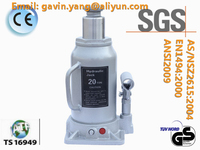 Single Valve 3 Ton Hydraulic Bottle Jack approved by GS, CE, SGS, TS16949, CCC, ISO9001