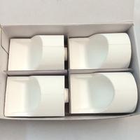Dental Material Horizontal Vertical Quartz Crucible / Ceramic crucible for Centrifugal casting machine for Dental Lab