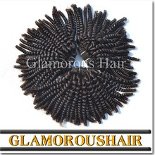 Grade 7A Unprocessed Virgin And Remy Mongolian Kinky Curly Hair