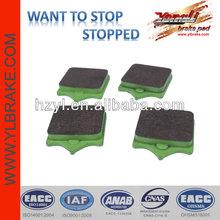 China quality brake pads semi metallic motorcycle brake