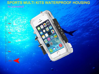 mobile phone accessories wholesale/ waterproof mobile phone case for iphone 5s with mounting system