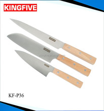 High-carbon stainless steel 3 pcs knife set