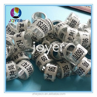 factory direct good quality and cheap price rings for birds personalized pigeon bands