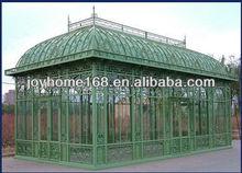 Jardín de hierro forjado gazebo/forjado pérgola de hierro