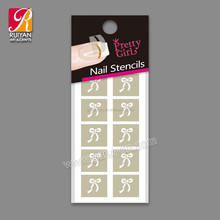 2015 Korea Nail Art Sticker Stencil Safe Nail Art Decoration NST028