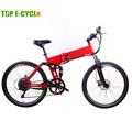 Bateria escondida fashional bicicleta dobrável montanha elétrica