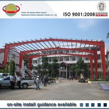 Seismic resistant light structure roof design