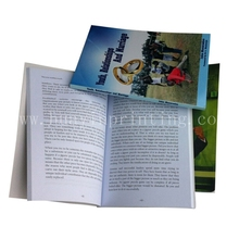 Customize book with cmyk color