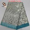silver sequin fabric lace 2015 of SL10195 silver