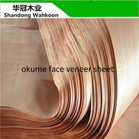okume face veneer 9mm 12mm 15mm 18mm bingtongor plywood
