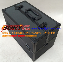 Heavy duty aluminium tool boxes with drawers carrying cases bags luggage hard sided tool cases