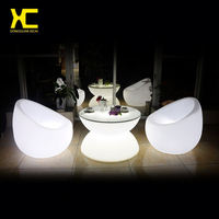 Chargeable Remote Control Illuminate Plastic Cordless Garden Sofa Chair