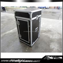 Manufacturer Price 16u racks flight cases with 11u mixer rack for sale