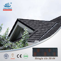 Soncap, BV, ISO certified stone coated metal roofing tile