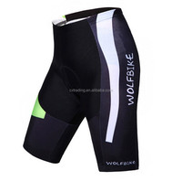2015 Men Hot High Quality Sublimation Bicycle Wear Silicone Shorts Pants