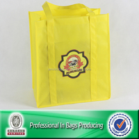 Tote eco-friendly recycled nonwoven shopping bag