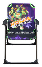 Ninja Turtles foldable kids patio chair kids beach chair outdoor furniture