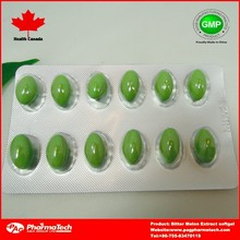 Bitter Melon Extract Capsule food supplement health care product
