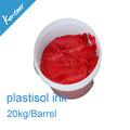 China plastisol tinta para a tela de impressão / 4 color plastisol tinta no alibaba