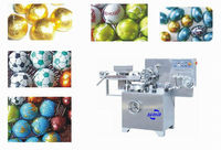 SM300 Colorful Foil Egg Shape Chocolate Wrapping Machine
