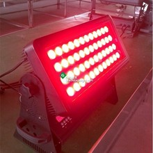 2015 hotsale factory price city color 48 quad led 12w rgbw 4in1 IP65 high building wash light